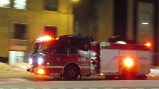MONTREAL S.I.M. FIREFIGHTERS RESPONDING JANUARY 2019