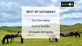 Saturday afternoon forecast 19/06/21
