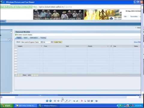 Online Tender Submission SRM System