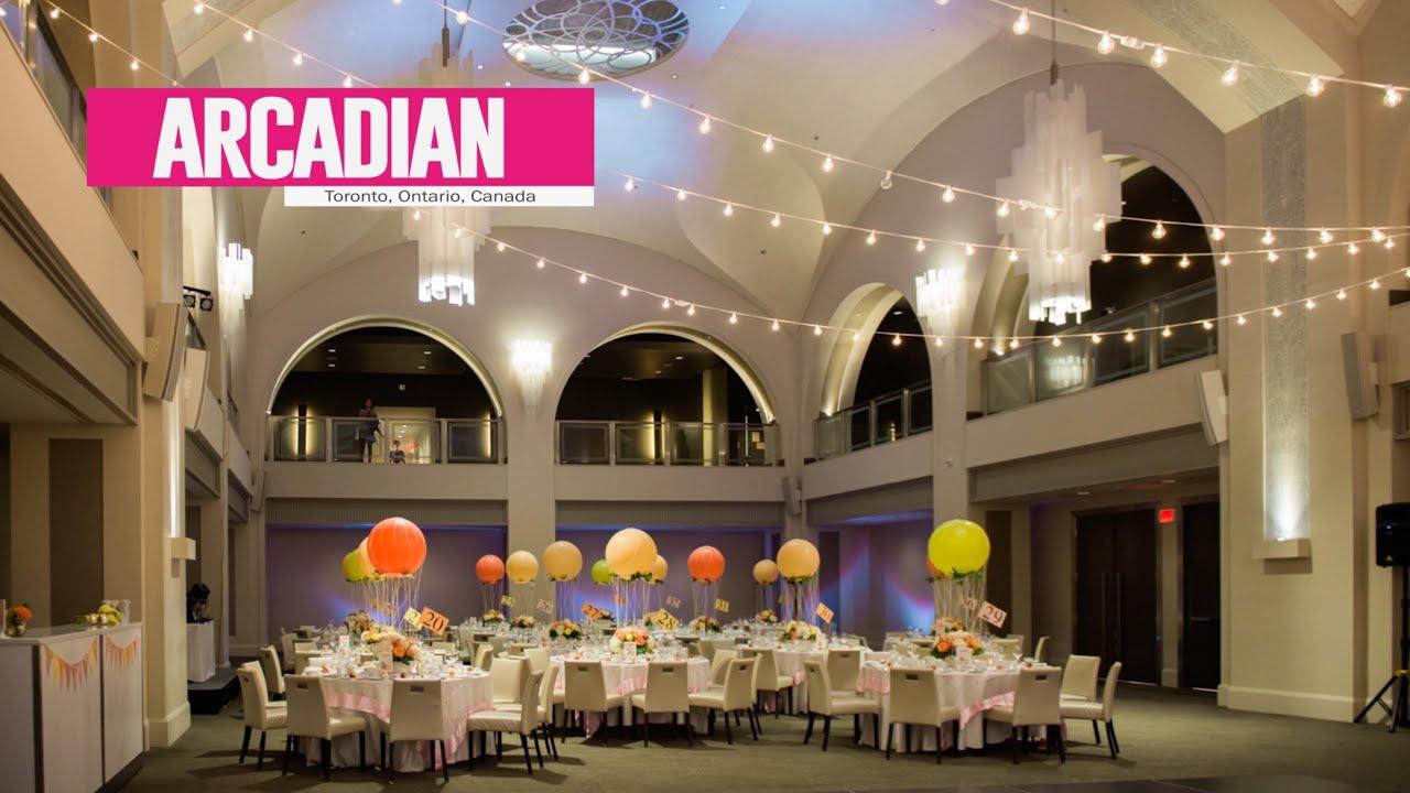 arcadian court amp loft best toronto wedding locations