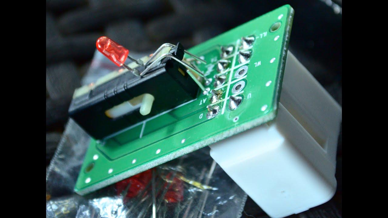 Замена подсветки кнопок стеклоподъёмников Kia Ceed