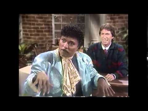 Little Richard on Nightlife w/ David Brenner (1987)