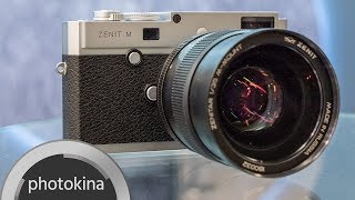Zenit M with 35mm F/1.0 Lens –Russian Legendary Brand Enters Digital Age – Interview and Footage