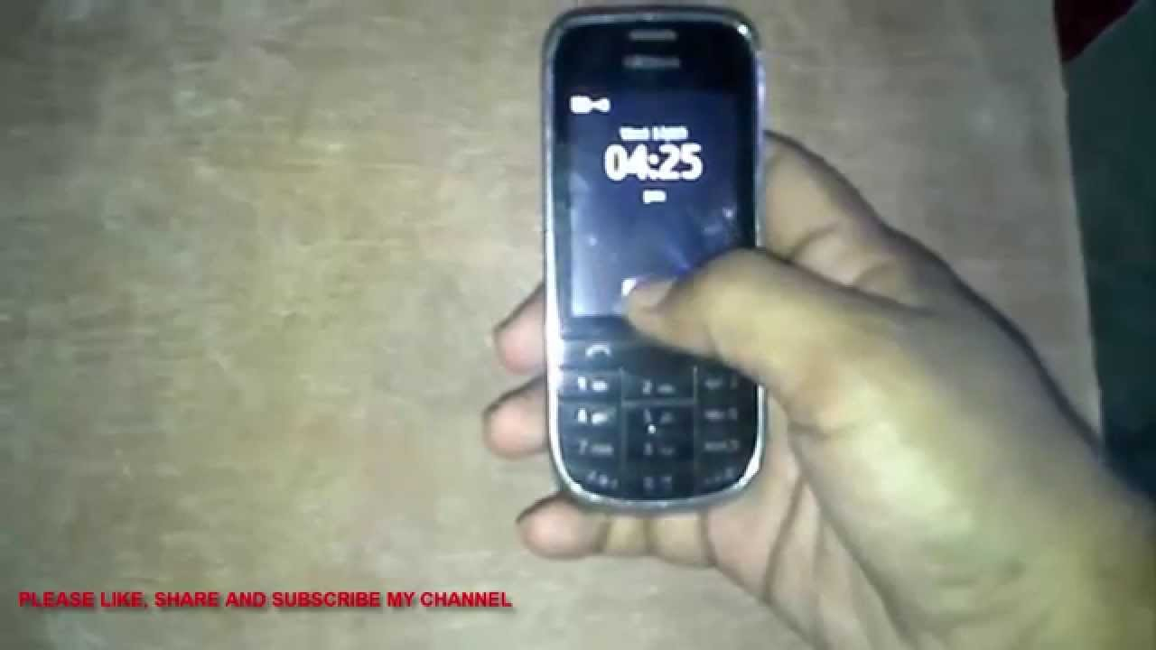 How To Flash Nokia asha 202 - YouTube