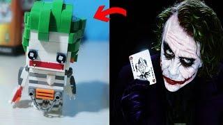 組裝樂高積木-迷人的蝙蝠俠反派角-小丑