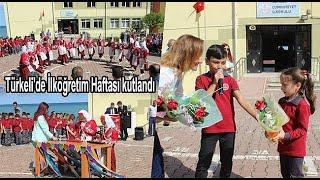 Türkeli 39 de İlköğretim Haftası kutlandı