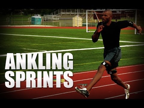 Track and Field Ankling Sprint Drill | Track and Field Speed Training