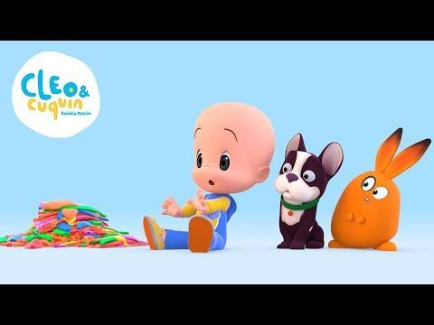 ¡Aprende con Cuquin, Fantasma, Tomate y los globos! Cleo y Cuquin en español