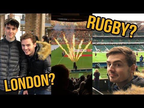 RUGBY?? Twickenham England Vs Argentina Egg-Chaser Vlog