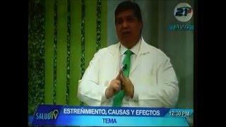 En el programa Salud TV el Doctor Carlos Vila habla de estreñimiento