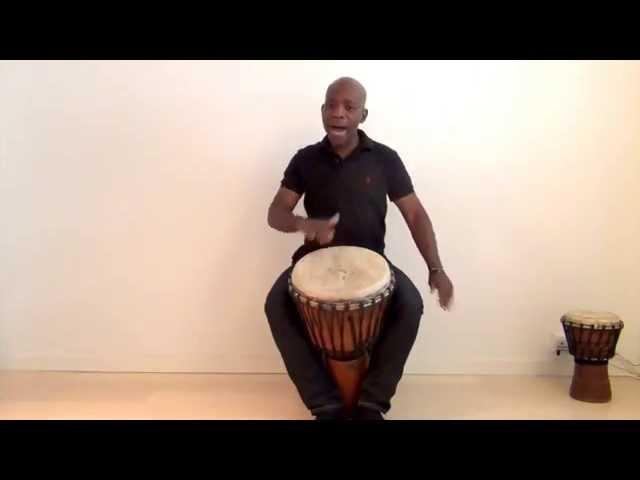Working with kids - Djembe