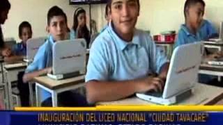 """Inauguran Liceo Nacional """"Ciudad Tavacare"""" en el estado Barinas"""