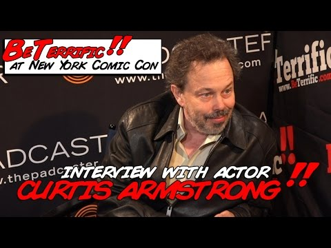 Interview with Curtis Armstrong at NY Comic Con