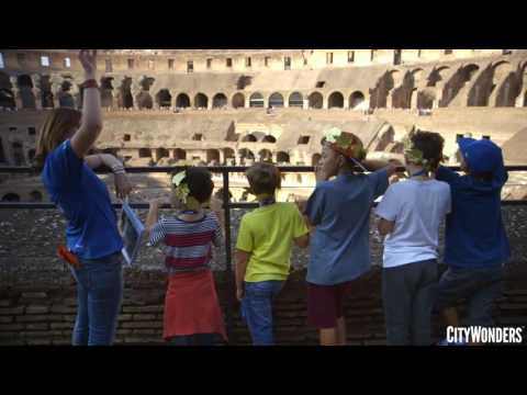 Skip-the-Line: Emperors & Gladiators Colosseum Family Tour - Video
