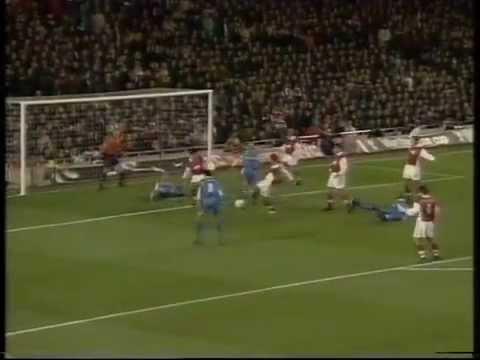 Arsenal 0-5 Chelsea 11th November 1998