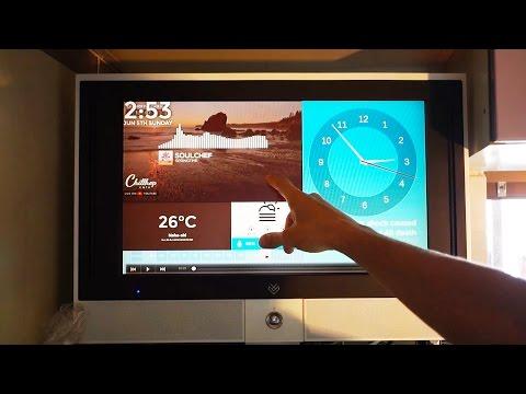 Kitchen TV using Raspberry Pi
