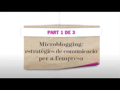 Microblogging: estratègies de comunicació per a l'empresa (1)