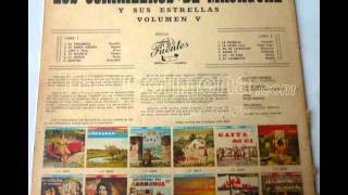 LOS CORRALEROS DE MAJAGUAL  Y SUS ESTRELLAS  L:P: DEL AÑO 1963.