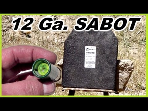 Remington Accutip Sabot Shotgun Slugs Youtube