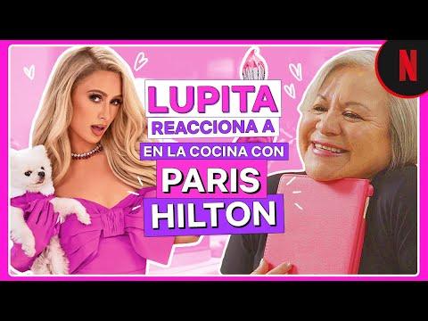 Lupita la cigarrita reacciona al tráiler de En la cocina con Paris Hilton