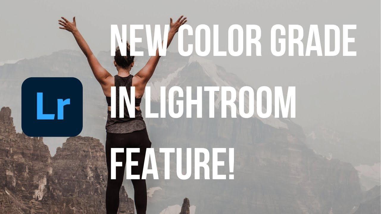 How to use adobe lightroom color grade tool, new feature!!
