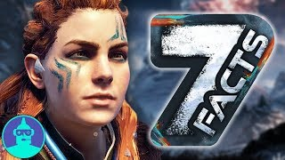 Horizon Zero Dawn: The Frozen Wilds - New Mechanical Beast +7 Facts YOU Should Know!!!