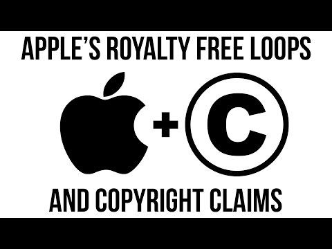 Apple Royalty Free Loops and Copyright Claims