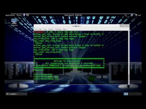 Compromise Router for Hacking  SSH Hacking Part 2