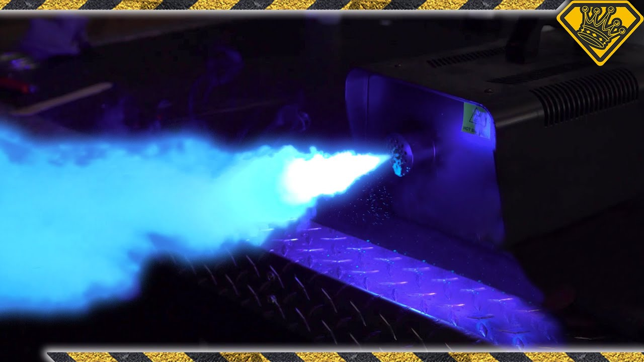 How To Make Glow in the Dark Fog