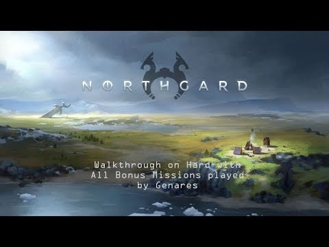 Northgard Campaign - Chapter 3 Settlement - Extreme Walkthrough (All Bonus Missions)