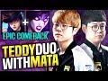 SKT T1 Teddy Duo with SKT T1 Mata in a Epic Comeback! - Teddy Caitlyn ft Mata Morgana | SKT Replays