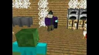 Я зомби! сезон 1,серия - 1(Minecraft animation).