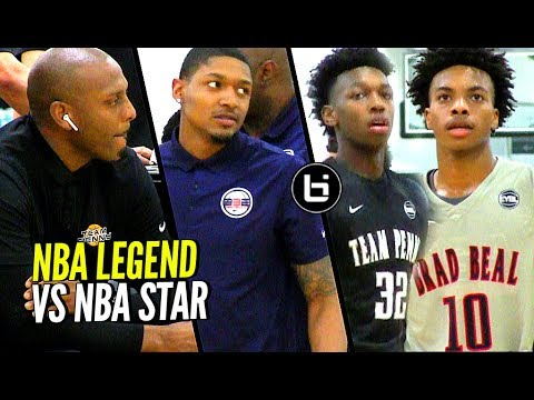 Teammates Turned RIVALS! Brad Beal vs Penny Hardaway Game Becomes PERSONAL!