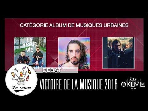 VICTOIRE DE LA MUSIQUE 2018 : Que penser des nominations  ? - #LaSauce sur OKLM Radio 10/01/18