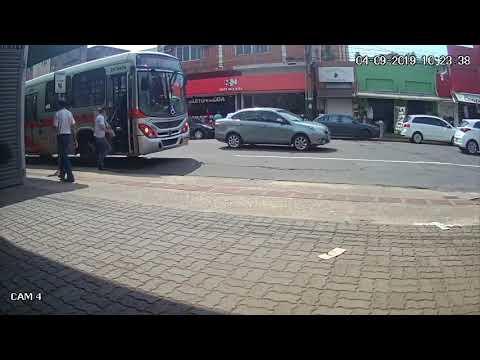 Acidente com ônibus do Consórcio Guaicurus
