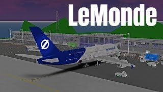 ROBLOX | LeMonde Airlines A380-800 Flight #3