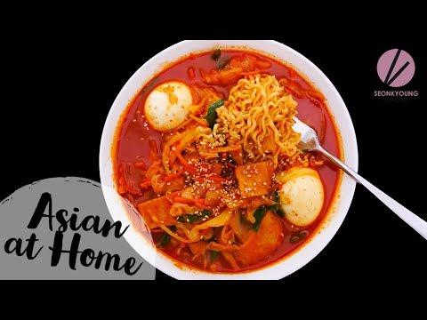 Rabokki Korean Sweet & Spicy Ramen Noodles
