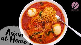 Download Video Rabokki Korean Sweet & Spicy Ramen Noodles MP3 3GP MP4
