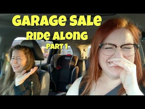 Garage Sale Ride Along Featuring, My Sister, Elaine! - Yard Sale Ride Along to Sell on Ebay & Etsy