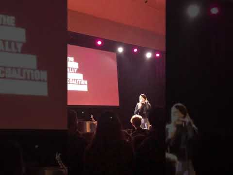 Lana Del Rey, How to Disappear live at Ally Coalition december 2018