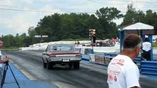 1964 Olds 442 vs. Dodge Demon Drag Race