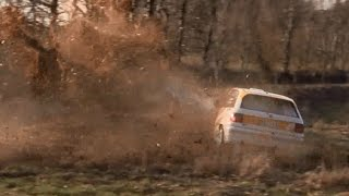 Highlights & Crash Rallye Kempenich 2017 Mistakes 12.03.2017