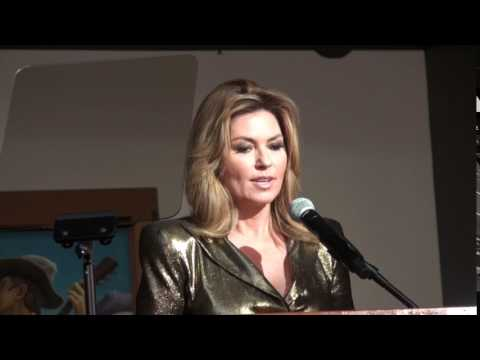 Shania Twain discusses her new Country Music Hall of Fame Exhibit