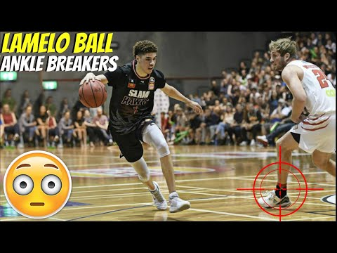 LAMELO BALL ANKLE BREAKER COMPILATION!
