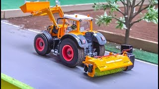 Awesome Modified RC Tractors and Trucks work hard!