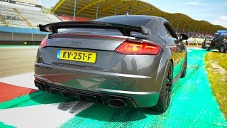 600HP Audi TT RS 2.5 TFSI Quattro - LOUD ACCELERATIONS!