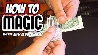 7 Money Magic Tricks REVEALED! - How To Magic!