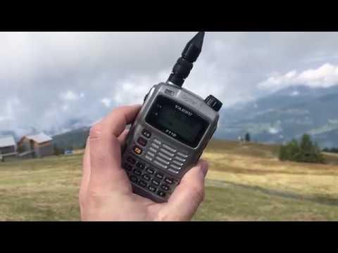 Fox-1D AMSAT AO-92 amateur radio satellite overflight at 145,880 MHz