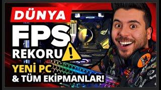 Yeni Canavar Bilgisayar ve Tüm Oyuncu Ekipmanlarım - Dünya FPS Rekoru ! UNLOST