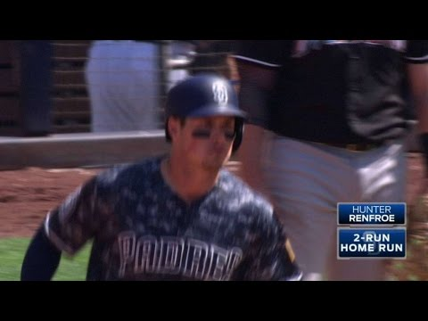 MIA@SD: Renfroe drills a two-run homer to...